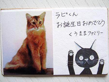 箜ちゃんカード